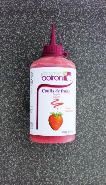 Erdbeere Fruchtsauce