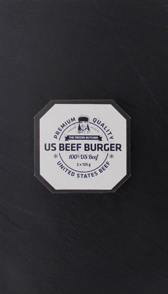 US-Beef Burger tiefgekühlt (2 Stück pro Packung)