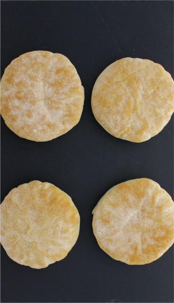 Burgerbrötchen Bronx Rustikal tiefgekühlt (4 Stück)