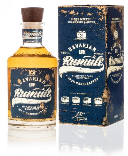 RUMULT Bavarian Rum Signature Cask Selection 43% 0,7l