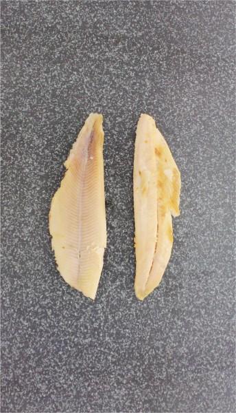 Forellenfilet ohne Haut geräuchert