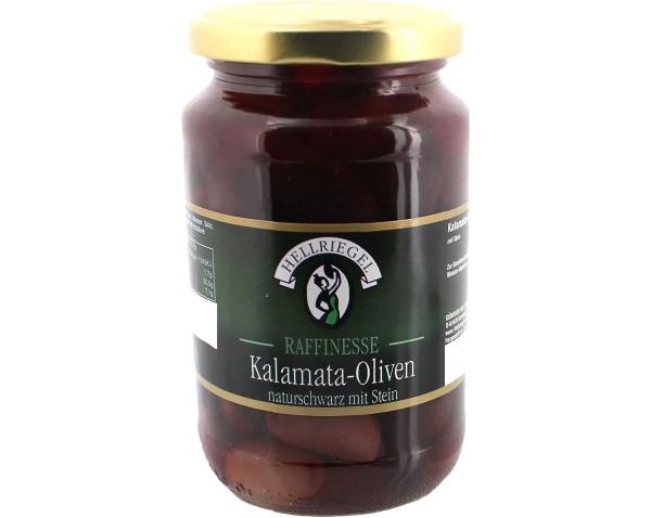 Kalamata-Oliven mit Stein