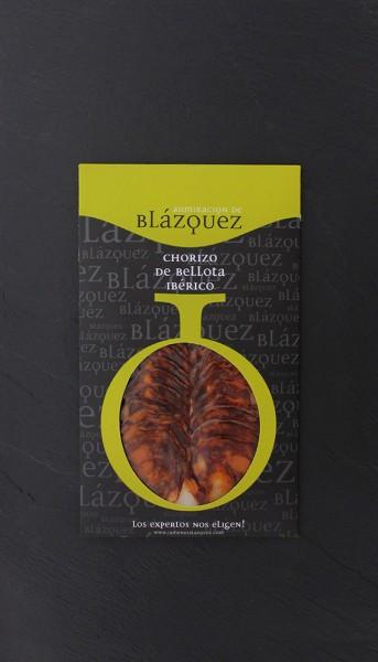 Chorizo Iberico Bellota geschnitten