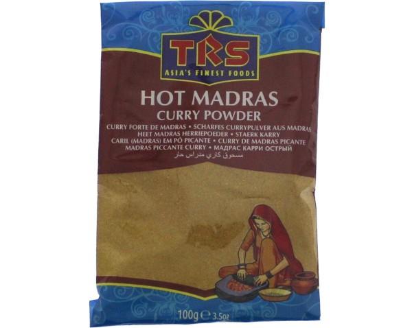 Scharfes Madras Currypulver
