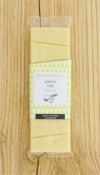 Schokolade Lemon Kiss weiß mit Zitronen-Crispies FrischeParadies