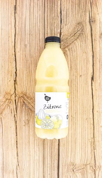 Zitrone Saft frisch gepresst