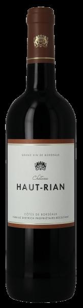 Château Haut Rian 1er Cotes Bordeaux rouge AOC