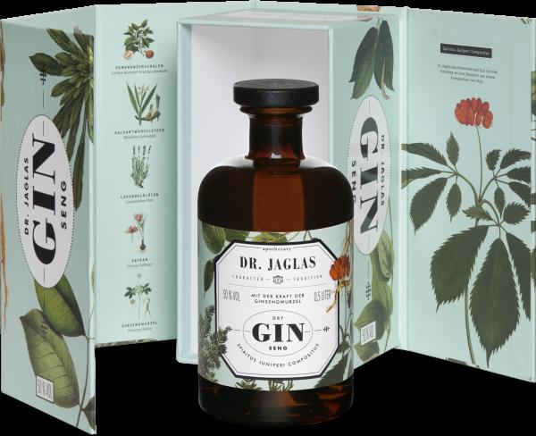 Dr. Jaglas GIN-seng 0,5l 50% (Premium Amaro) inkl. Geschenkkarton