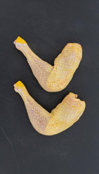 BIO Maishähnchenschenkel