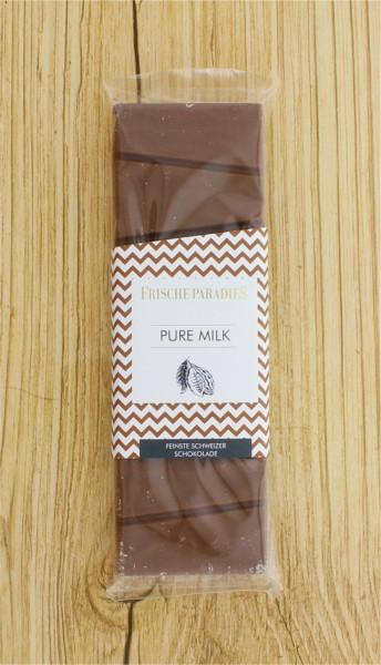 Schokolade Pure Milk Vollmilch FrischeParadies