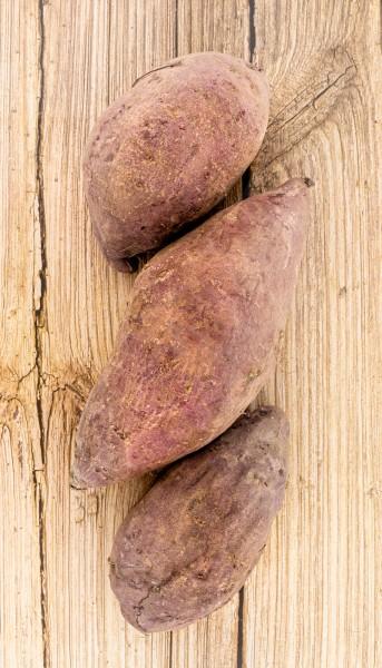 Süßkartoffel violett