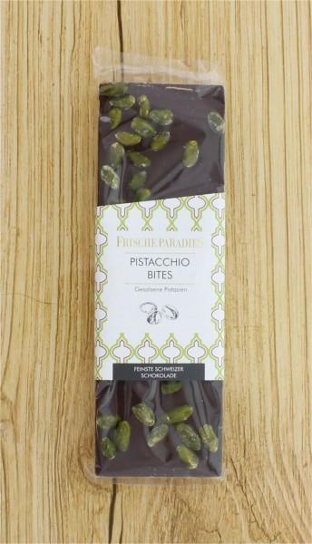 Schokolade Pistachio Bites Pistazienkerne FrischeParadies