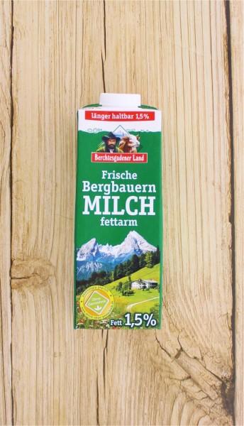 Frische Bergbauernmilch 1,5%