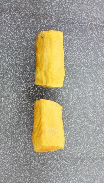 Buttermakrelenstremel mit Haut geräuchert