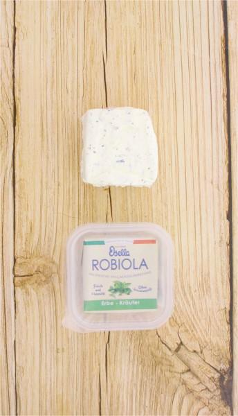 Robiola mit Kräutern