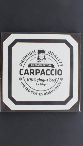 Rindercarpaccio tiefgekühlt (2 Portionen)