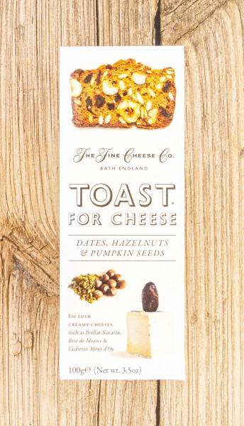 FINE CHEESE Dattel Haselnuss Gebäck zum Käse