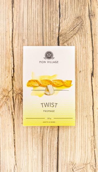 Blätterteig Twist Käse Butter Knabbergebäck