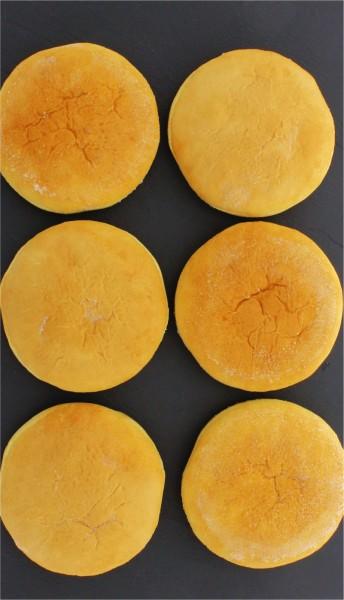 Brioche Burgerbrötchen tiefgekühlt (6 Stück pro Packung)