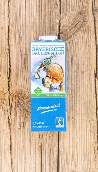 Bayern Bauernmilch H-Milch 100% genfrei, 3,5%