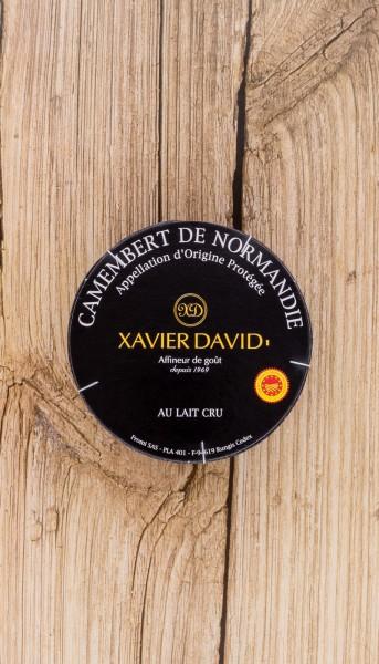 Xavier David Camembert Normandie AOP