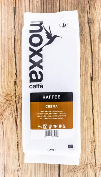 BIO Kaffee Crema ganze Bohne