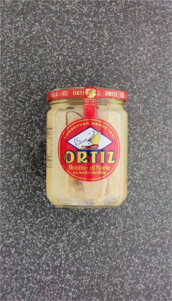 Weißer Thunfisch in Olivenöl