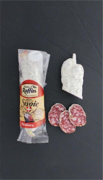 Französische Salami natur aus Schweinefleisch