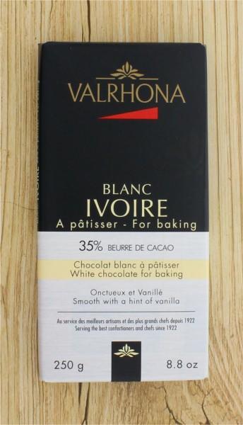 Mini Blockschokolade Ivoire 35%