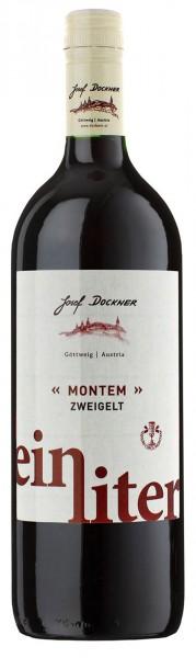 """Dockner """"Montem"""" Ein Liter Zweigelt"""