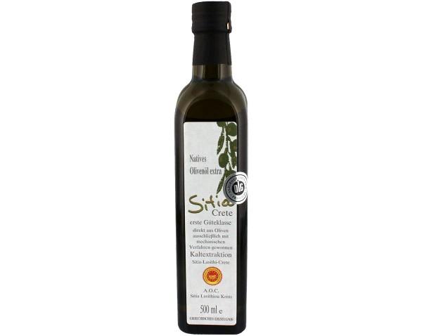 Olivenöl Extra Vergine AOC Kreta SITIA