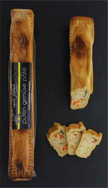 Puten-Gemüse-Pastete