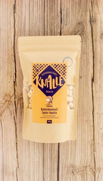 KNALLE Popcorn mit Butterkaramell und Tahiti-Vanille