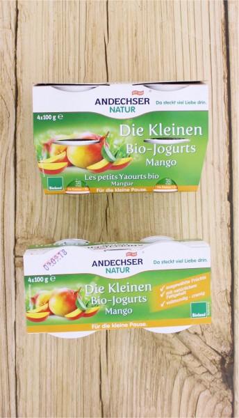 BIO Joghurt mild Mango 4x 100g