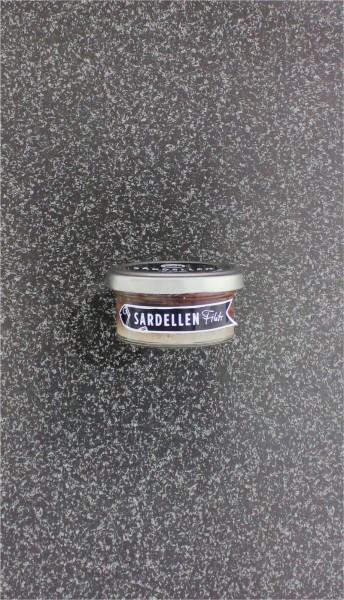 Sardellenfilet in Salz
