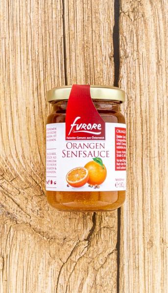 Senf Sauce Orange