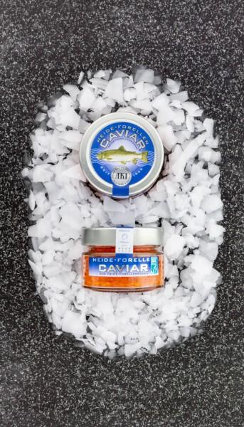 ASC Heide Forellen Kaviar mit Sylter Meersalz
