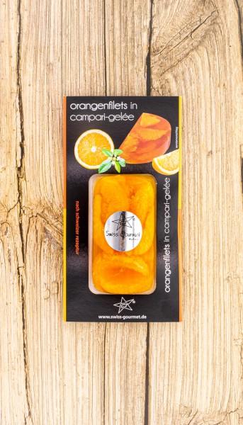 Terrine Orangenfilets in Campari Gelee
