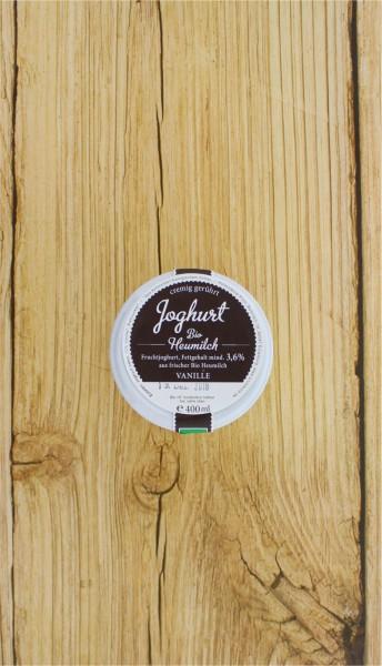 BIO Heumilchjoghurt Vanille