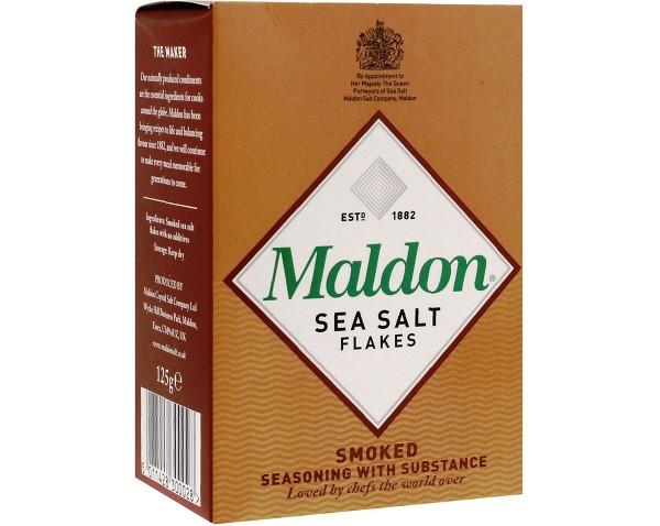 Maldon geräucherte Meersalzkristalle