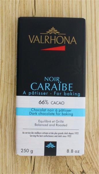 Mini Blockschokolade Caraibe 66%