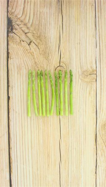 Mini Spargelspitzen grün