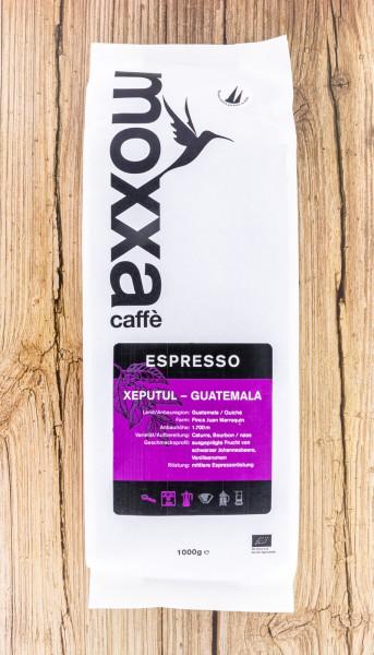 BIO Espresso Xeputul ganze Bohne