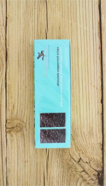Schokoladencrisps mit Minze