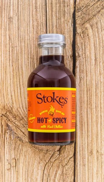 BBQ Sauce Hot & Spicy