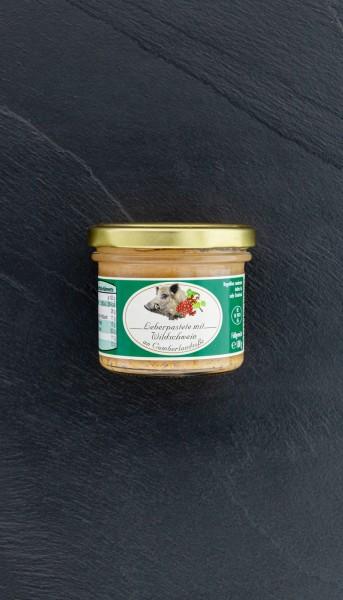 Wildschwein-Pastete mit Cumberlandsoße