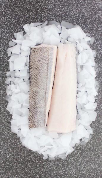 Seehechtloins mit Haut