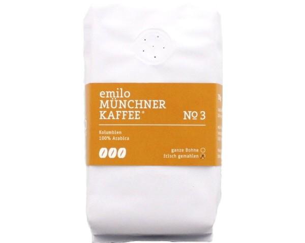 Gemahlener Kaffee, Nr. 3 – kräftig