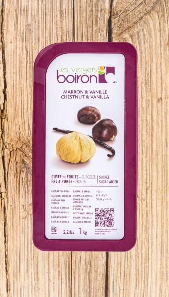 Maronen Vanille Fruchtpüree