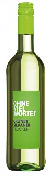 """Weingut Schloss Sommerhausen """"Ohne viel Worte"""" Grüner Silvaner QbA"""
